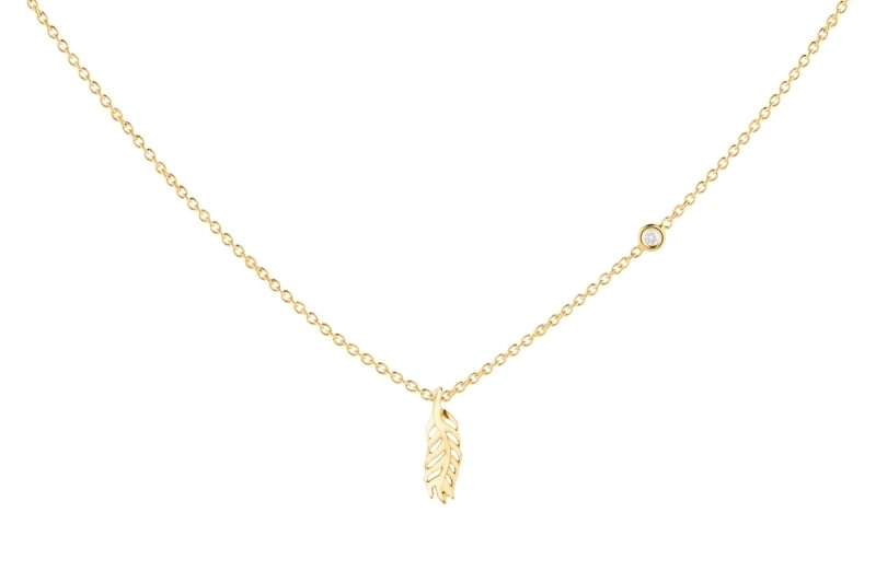 Spokes Gold necklace product photo
