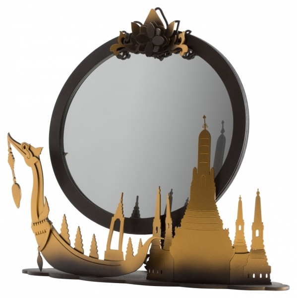 Fine 26 ship mirror home decoration product photo