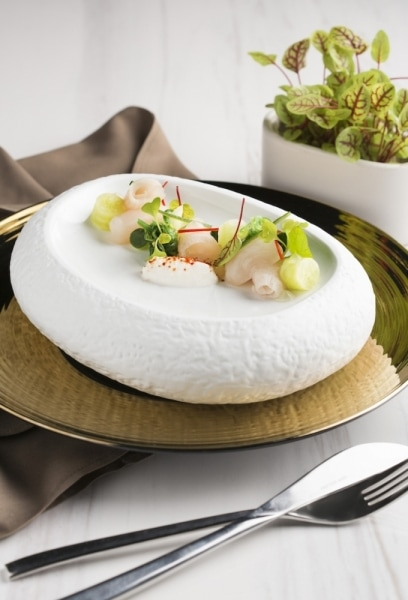 SO Sofitel sashimi platter product photo