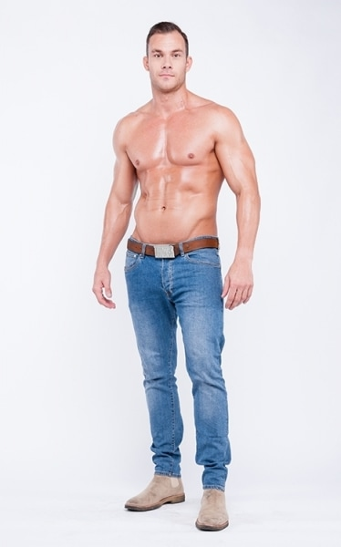 YSIS men's jeans product photo