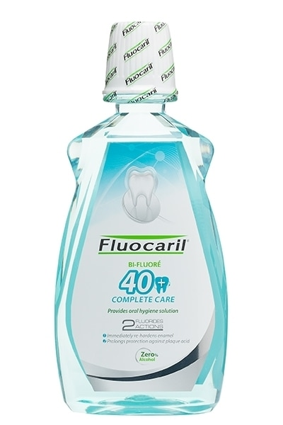 Fluocaril 40+ complete care mouthwash product photo