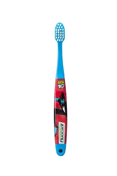 Fluocaril blue Ben10 children's toothbrush product photo